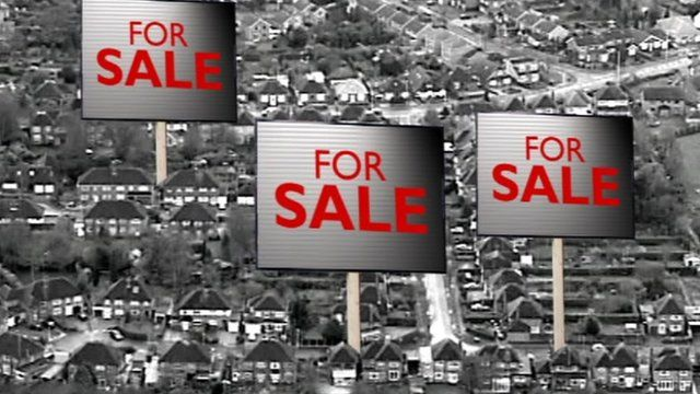 'For sale' signs
