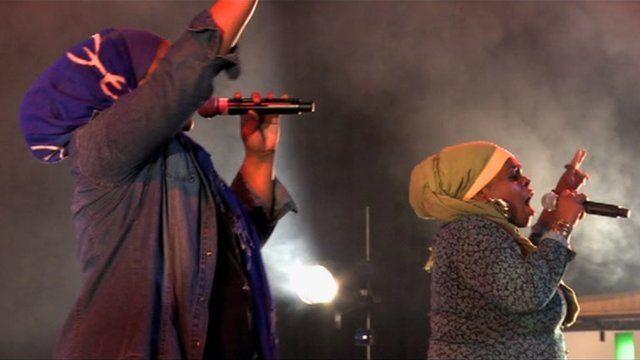 Hip Hop Hijabis