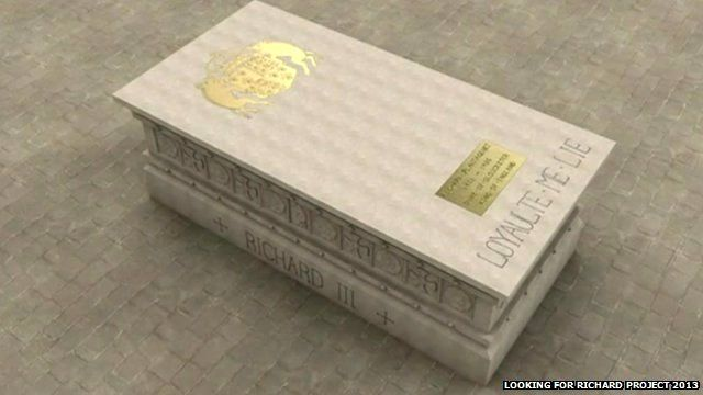 design for Richard III's tomb
