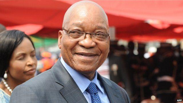 South Africa's President Jacob Zuma