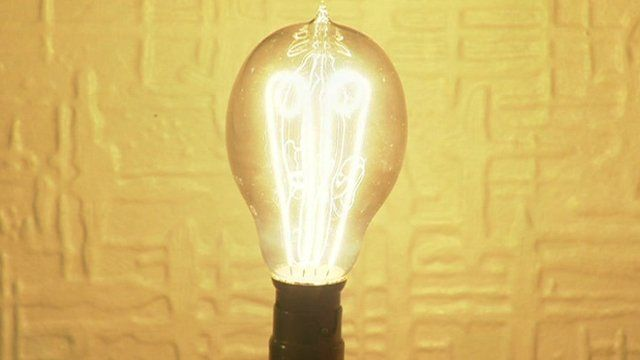 Ediswan light bulb