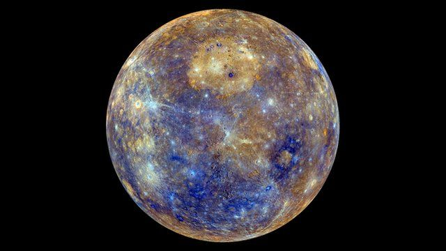 Map of Mercury