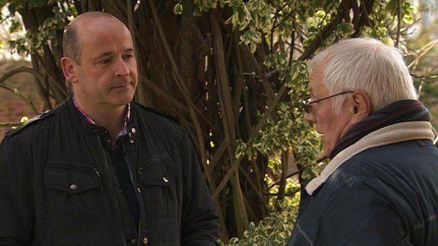 Peter McGuiness and Trevor Hicks