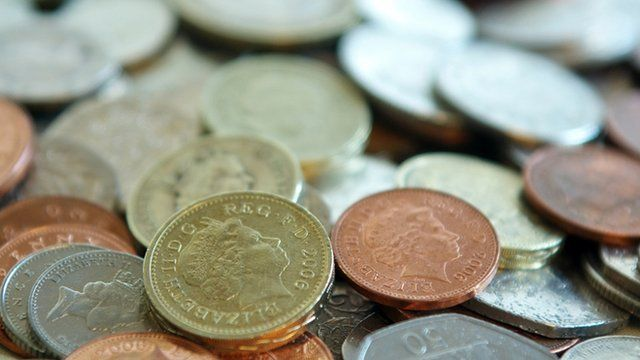 Sterling coins