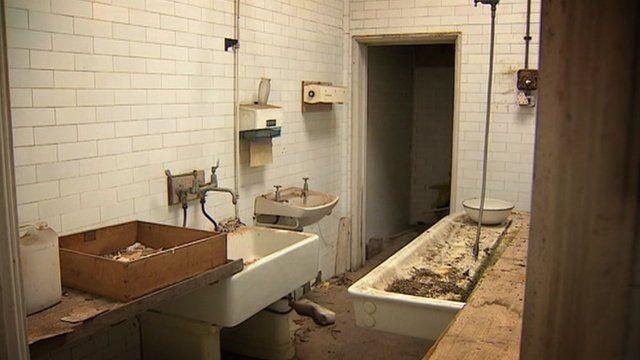 Mortuary interior