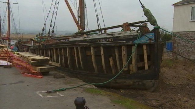 Thames barge Vigilant