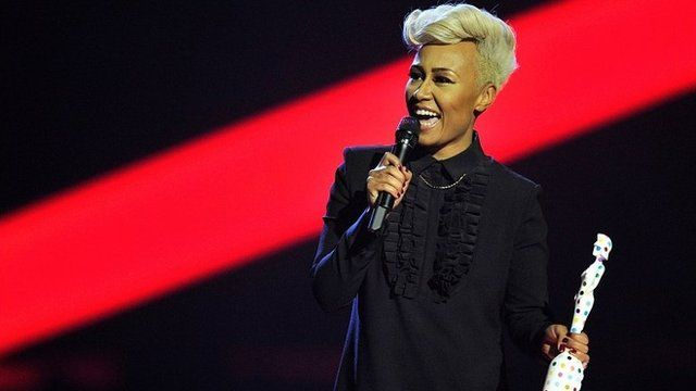 Emeli Sande at the Brit Awards