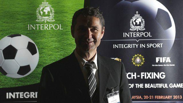 Ralf Mutschke, Fifa's head of security