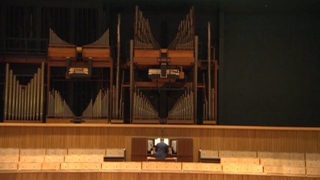 Organ in the Royal Festival Hall