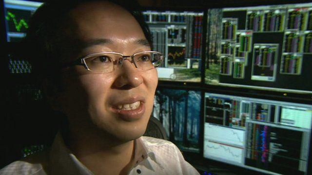 Trader Fumiaki Sagara