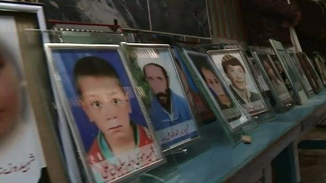 Photos of people who died in attack