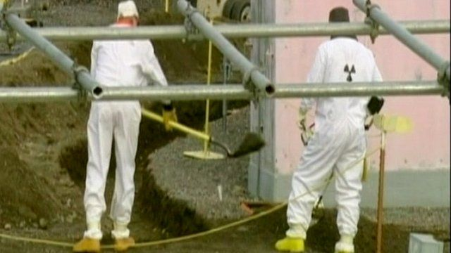 Workers at nuclear plant
