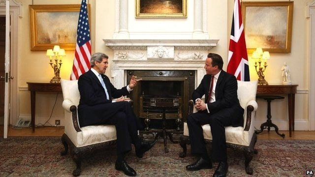 John Kerry and David Cameron