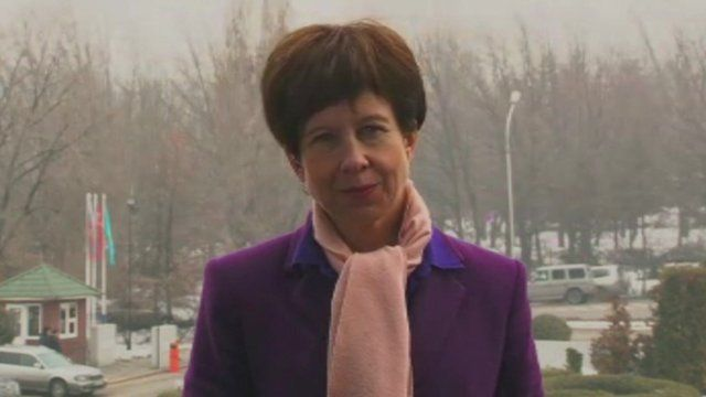 The BBC's Lyse Doucet