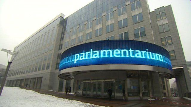 EU building in Brussels