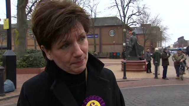 Eastleigh candidate Ukip candidate Diane James