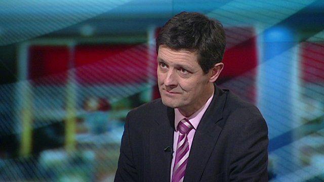 The BBC's Hugh Pym
