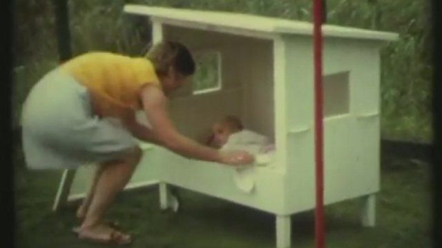 A Dutch 'babyhouse'