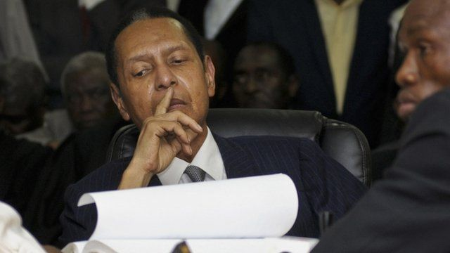 "Jean Claude ""Baby-Doc"" Duvalier"