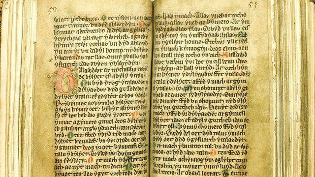 The Laws of Hywel Dda (generic medieval manuscript)