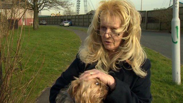 Kay Piatek was injured in a dog attack