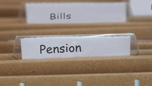 pensions filing
