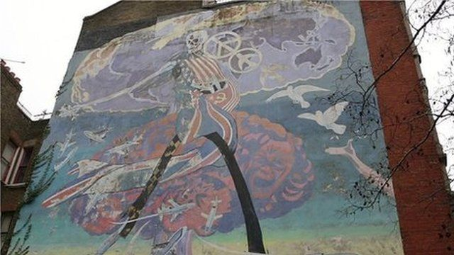 A mural in Brixton, London
