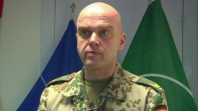 Isaf spokesman, Brigadier General Gunter Katz