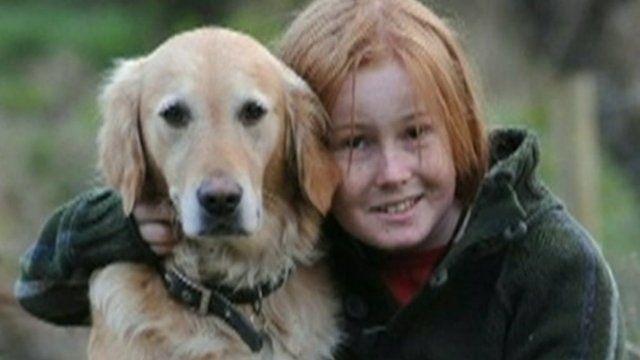 David Langton-Gilks and his pet dog