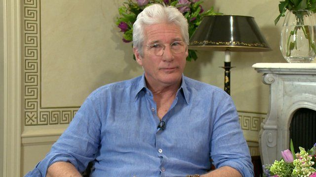 Richard Gere on The Andrew Marr Show