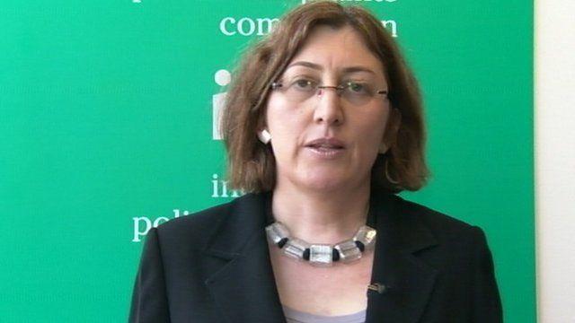 IPCC Commissioner Sarah Green