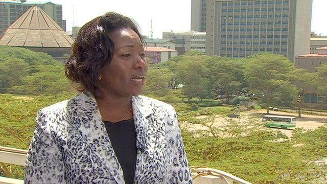 Lilian Mahiri-Zaja, vice-chair Kenyan Electoral Commission