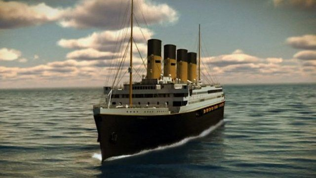 Titanic II computer generation