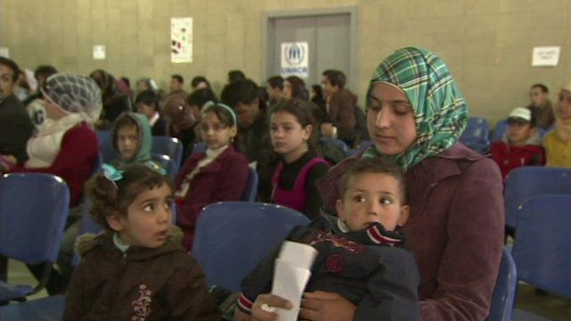 Teenager registers as Syria's one millionth refugee