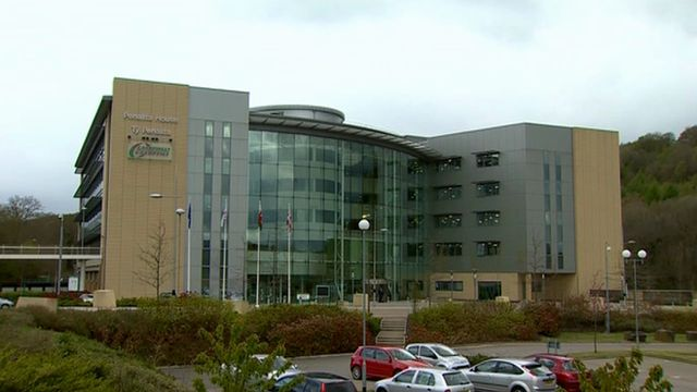 Caerphilly council offices
