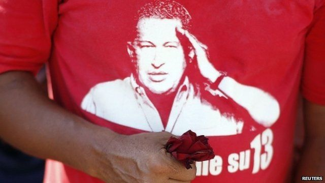 Image of Chavez on t-shirt