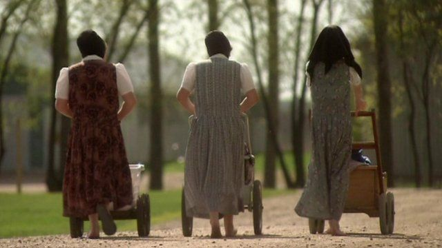Women from the Hutterite community