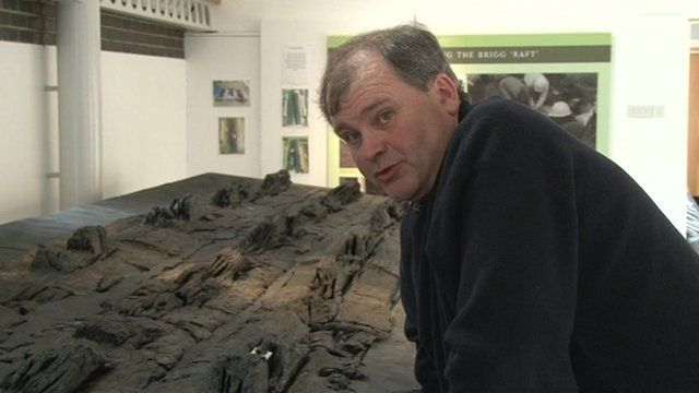 The Bronze Age barge in Brigg