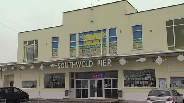 Southwold Pier pavilion