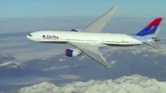 Delta aeroplane