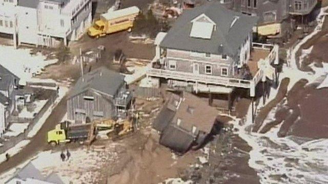 Destroyed homes