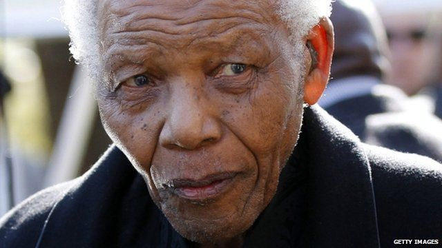 Nelson Mandela - file photograph