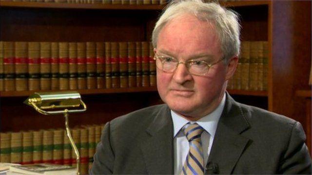 Lord Chief Justice Sir Declan Morgan