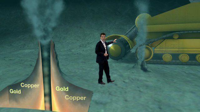 The BBC's Science Editor David Shukman explains deep sea mining