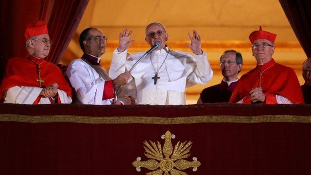 Cardinal Bergoglio of Argentina