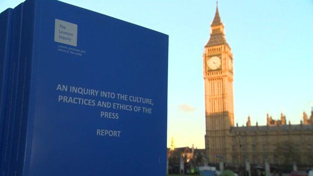 Leveson Report and Westminster