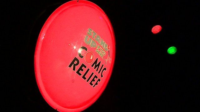 Comic Relief Stand-up logo