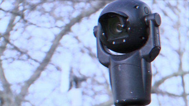 CCTV camera in Newham
