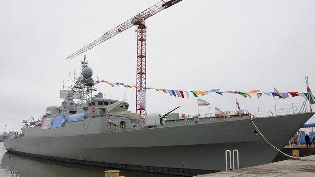 Jamaran-2 guided missile destroyer