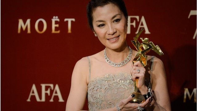 Michelle Yeoh at the Asian Film Awards.